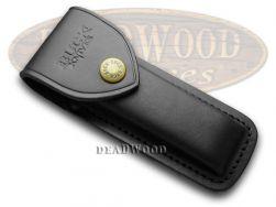 Buck 110 Black Leather Knife Belt Sheath