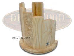 Boker Tree Brand Olive Wood Magnetic Knife Block for Prem Kitchen Cutlery 30401