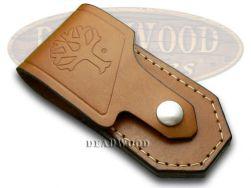 Boker Tree Brand Brown Leather 2002 Knife Belt Sheath 090033