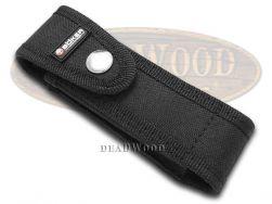 Boker Tree Brand Black Nylon Snap Closure Pocket Knife Knives Belt Sheath 090047