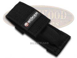 Boker Tree Brand Black Nylon Hook & Loop Belt Sheath for Pocket Knife 090059