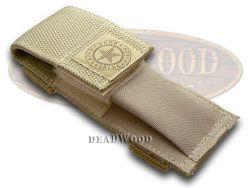 Boker Kalashnikov Desert Beige Nylon Pocket Knife Sheath 090065