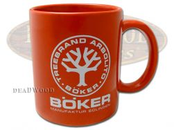 Boker Tree Brand Red Ceramic 10.4 Ounce Coffee Mug 09BO180