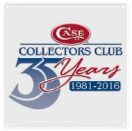 Case xx Case Collectors Club 35th Anniversary Tin Sign 27602