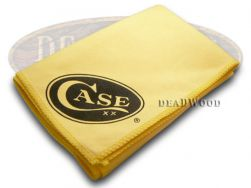 Case xx Yellow Absorbent Jewler's Cloth for Polishing Pocket Knife Blades 4598