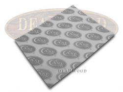 Case xx Logo White & Gray Gray color Wrapping Paper for Pocket Knives 50127