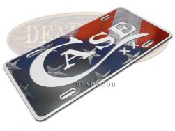 Case xx Knives USA Flag Aluminum License Plate 50128