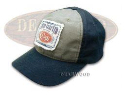 Case xx Blue and Gray Canvas Hat Baseball Cap 50170