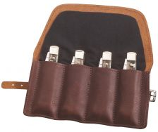 Case xx Genuine Leather and Cotton Gentleman's Knife Roll 50246