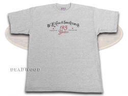 Case xx 125th Anniversary Logo Small Gray T-Shirt 50254