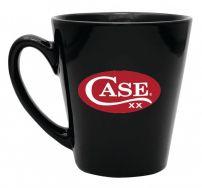 Case xx 12 Oz Tapered Black Ceramic Mug 52475