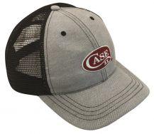 Case xx Black Mesh Oxford Cap Adjustable Hat 52504