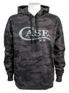 Case xx Small Hoodie Sweatshirt Black & Grey Camo 52574