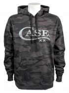 Case xx Medium Hoodie Sweatshirt Black & Grey Camo 52575