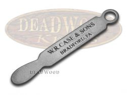 Case xx Engraved Stainless Steel Knife Opener with Lanyard Hole 7585