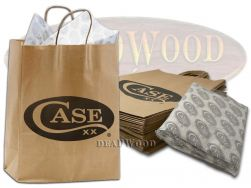 Case xx Logo Print Large Gift Bags & Paper 25pcs for Knives 90009