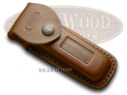Case xx Brown Leather Trapper 980 Knife Belt Sheath 980