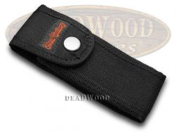 Frost Cutlery Black Nylon Logo Knife Belt Sheath