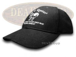 Hen & Rooster Black 100% Cotton Hat Baseball Cap