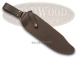 Hen & Rooster Brown Leather 15 inch Knife Belt Sheath