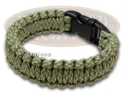 "Wilson Tac Digital Camo Camouflage Paracord 8"" Survival Bracelet WI9JG222"
