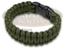 "Wilson Tac Olive Drab Paracord 8"" Eight Inch Survival Bracelet WI9JG232"