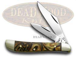 Buck Creek Sea Biscuit Corelon Peanut Pocket Knife 105SB Knives