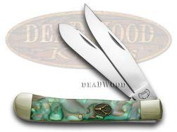 Buck Creek Mozaic Celluloid Trapper Pocket Knife 254MOZ Knives