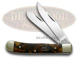 Buck Creek Trapper Knife Tortoise Shell Celluloid German Pocket Knives BC-254 T