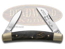 Buck Creek Cobra Bufflo Horn Congress Pocket Knife 6642BH Knives