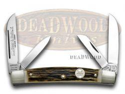 Buck Creek Congress Knife Genuine Deer Stag Carbon German Pocket Knives