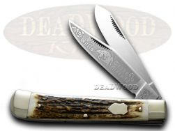 Bulldog 25th Anv 2004 Trapper Stag Pocket Knife 11672 Knives