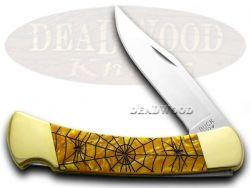 Buck 110 Folding Hunter Knife Recluse Antique Gold Corelon 1/400 Stainless