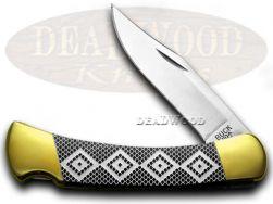 Buck 110 Folding Hunter Knife Diamondback Black Pearl Corelon 1/400 Stainless