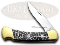 Buck 110 Folding Hunter Knife Recluse Black Pearl Corelon 1/400 420HC Stainless
