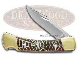 Buck 110 Folding Hunter Knife Recluse Fire Mist Green Corelon 1/400 Stainless