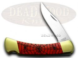 Buck 110 Folding Hunter Knife Recluse Red Pearl Corelon 1/400 420HC Stainless