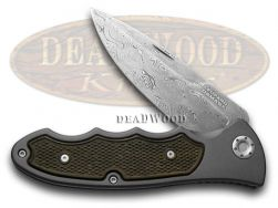 Boker Tree Brand Turbine 42 Liner Lock Knife Leopard III Damascus 110129DAM
