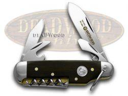 Boker Tree Brand 145th Anniversary Grenadill 1/1869 Sport Camp 110180 Knife