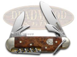 Boker Tree Brand 1674 Camp Knife Amboina Wood 1/343 Stainless 110390