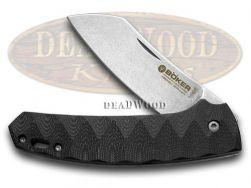 Boker Tree Brand Anso Haddock Liner Lock Knife Black G-10 Stainless 110617