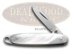 Boker Tree Brand Mother of Pearl Medallion Pocket Knife 111061 Knives