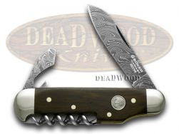 Boker Tree Brand 2014 Annual Damascus Collector's Camp Knife 1132014DAM Knife