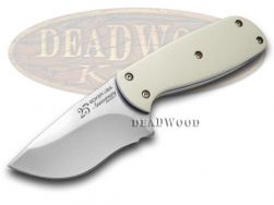 Boker Tree Brand Minx Fixed Blade Knife White Micarta 1/300 25th Anniv 120617M
