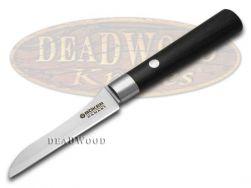 Boker Tree Brand Damascus Kitchen Vegetable Knife Black Olive Wood 130408DAM