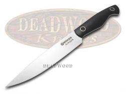 Boker Tree Brand Saga Kitchen Utility Knife Black G10 Full Tang Stainless 131265