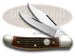Boker Tree Brand Jigged Red Copperhead Pocket Knife 2626JRBI Knives