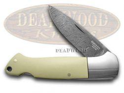 Boker Tree Brand Damascus Folder Knife Gray Color Micarta 1/999 32012DAM