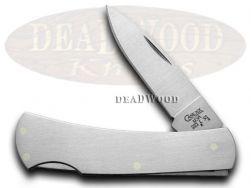 Case xx Executive Lockback Knife Brushed Stainless Steel Stainless Pocket 00041