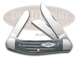 Case xx Second Cut Jigged Gray Bone Sowbelly Stainless Pocket Knife 10666 Knives
